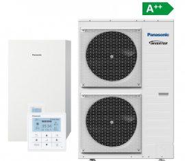 PANASONIC AQUAREA T-cap 12kW, 1 fázis, csomag ár, hőszivattyú telepítéssel együtt