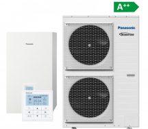 PANASONIC AQUAREA T-cap 9kw, 3 fázis, Csomag ár, hőszivattyú telepítéssel együtt