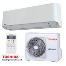 TOSHIBA SEIYA 3,3kW Inverteres klíma szett beépítéssel