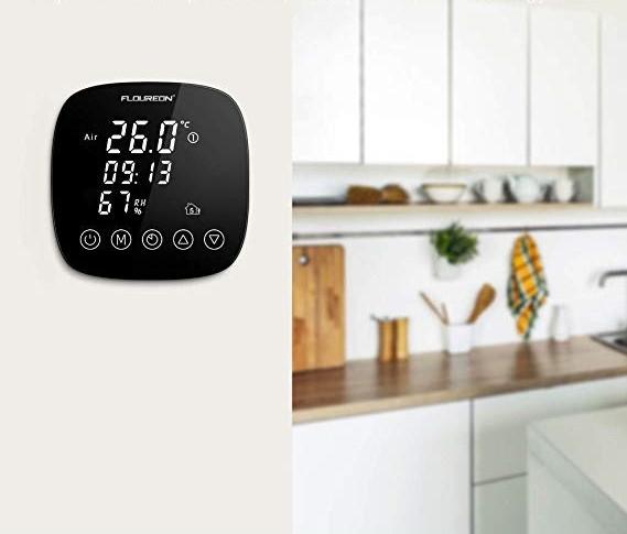 okos termosztát, fűtőfilm alexa google home