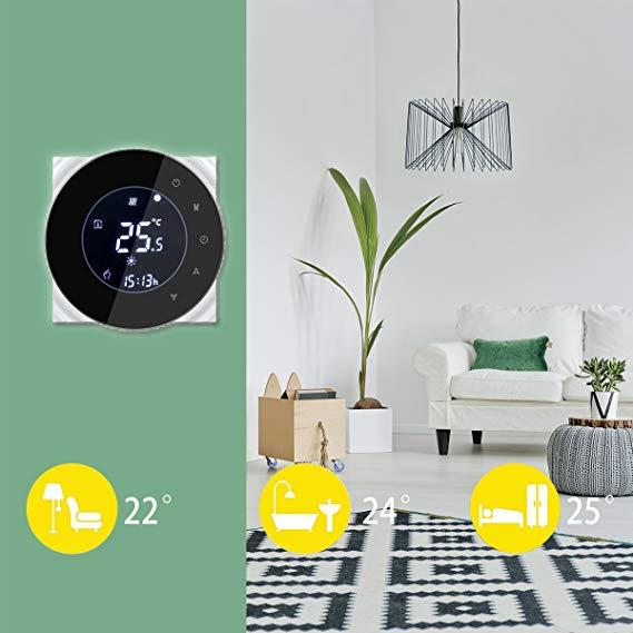 okos termosztát alexa, google home