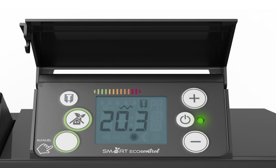 Digitális fűtőpanel vezérlő termosztát