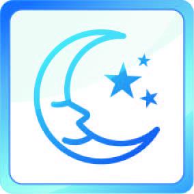 Csendes éjszakai mód, a nyugodt alvásért